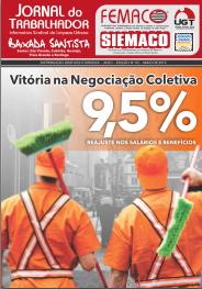 Informativo Siemaco Santos – Maio 2015