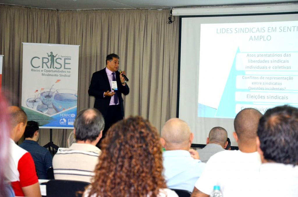 1º Seminário Crise – Riscos e Oportunidades no Movimento Sindical
