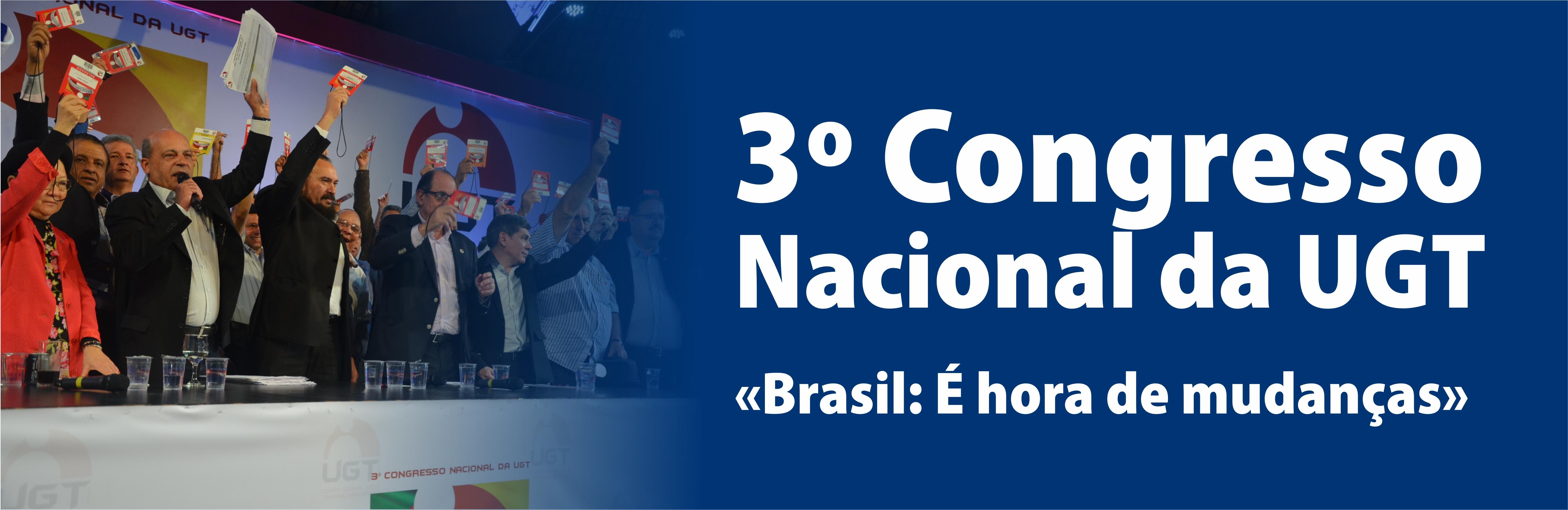 3º Congresso Nacional da UGT