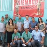 Com o apoio do patrão a empresa Termitek se associou ao Siemaco SP