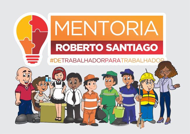 Projeto Mentoria Roberto Santiago investe na difusão de informação e capacitação dos trabalhadores