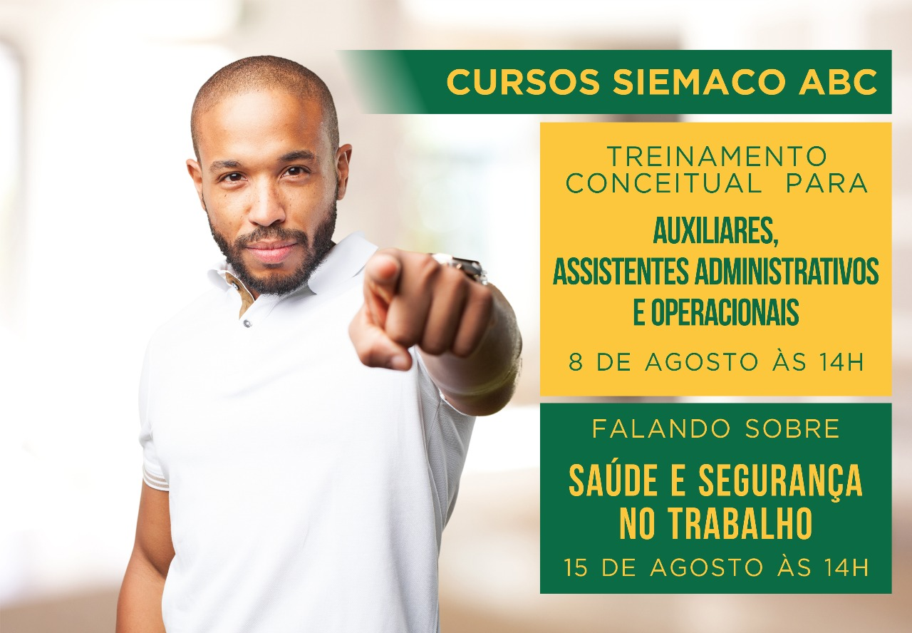 Siemaco ABC segue oferecendo cursos para a categoria