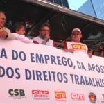 Siemaco participa do Dia do Basta, manifestação nacional contra a retirada de direitos sociais