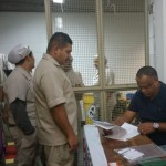 Onet Centro registra cipeiros da equipe de limpeza do Hospital das Clínicas
