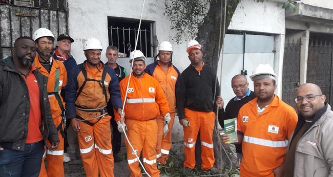O Siemaco cuida dos trabalhadores que embelezam e promovem a qualidade do ar e vida nas Áreas Verdes de São Paulo