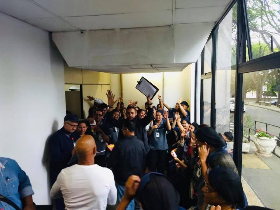 Trabalhadores da limpeza do Hospital Geral de Guarulhos  aprovam pauta de reivindicações da campanha salarial 2019/2020.