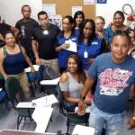Siemaco leva informação sobre direitos aos trabalhadores da limpeza na linha Azul do Metrô