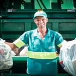 Coleta de lixo embala sonho olímpico de Johnatas Oliveira
