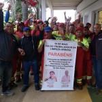 Homenagens e comemorações marcam o 16 de maio, Dia do Trabalhador da Limpeza Urbana, Asseio e Conservação e Áreas Verdes