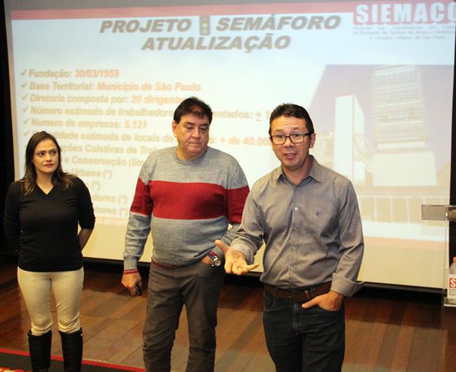 Diretores do Sindlimp Florianópolis conhecem projeto do SIEMACO-SP, reconhecido mundialmente como referência de sindicalização