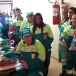 SIEMACO-SP paralisa serviço na Corpus Ambiental e empresa entrega EPI para trabalhadores