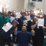SIEMACO-SP visita três turnos de trabalhadores na TV Record, tira dúvidas e filia novos membros