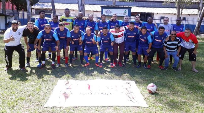 Futebol e confraternização entre trabalhadores da Loga tem apoio do SIEMACO-SP
