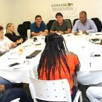 Diretores do SIEMACO-SP participam de reunião da CONASCON sobre a nova estrutura sindical
