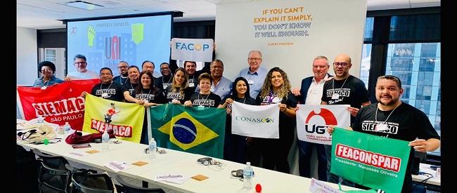 UNI Global Union realiza Conferência Mundial do Setor de Serviços a Propriedade com presença do SIEMACO-SP