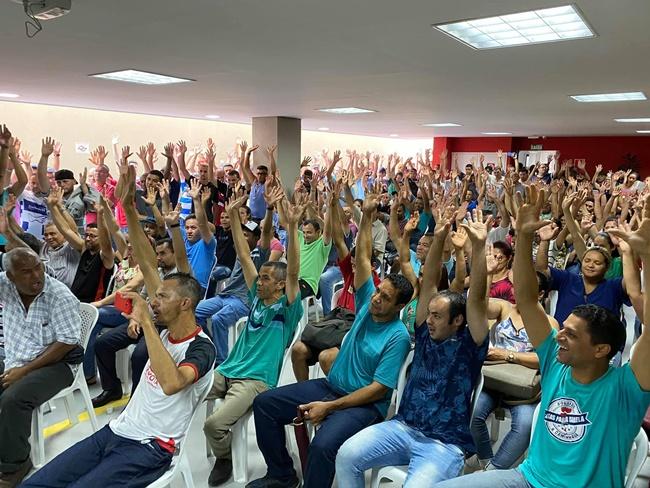 Siemaco ABC realiza assembleia com trabalhadores