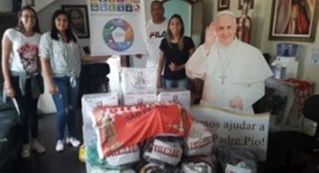 SIEMACO-SP faz doações à Associação São Pio de Pietrelcina e João Paulo II