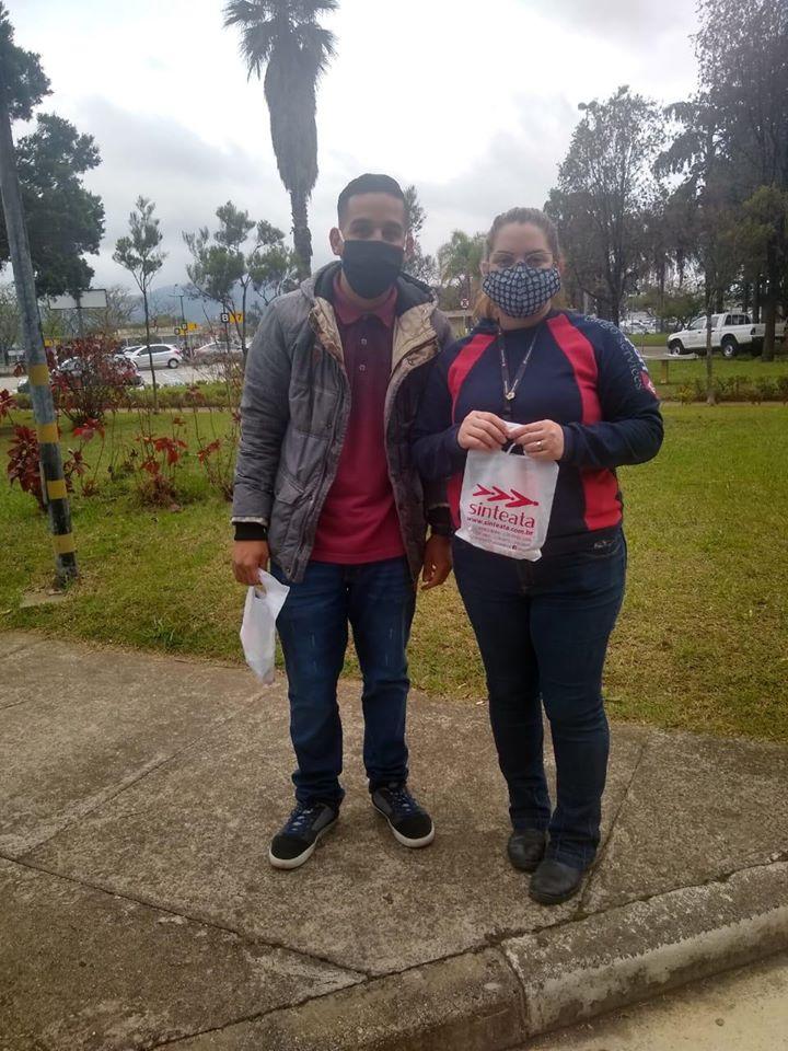 Sinteata inicia distribuição de kits de higiene aos trabalhadores dos aeroportos