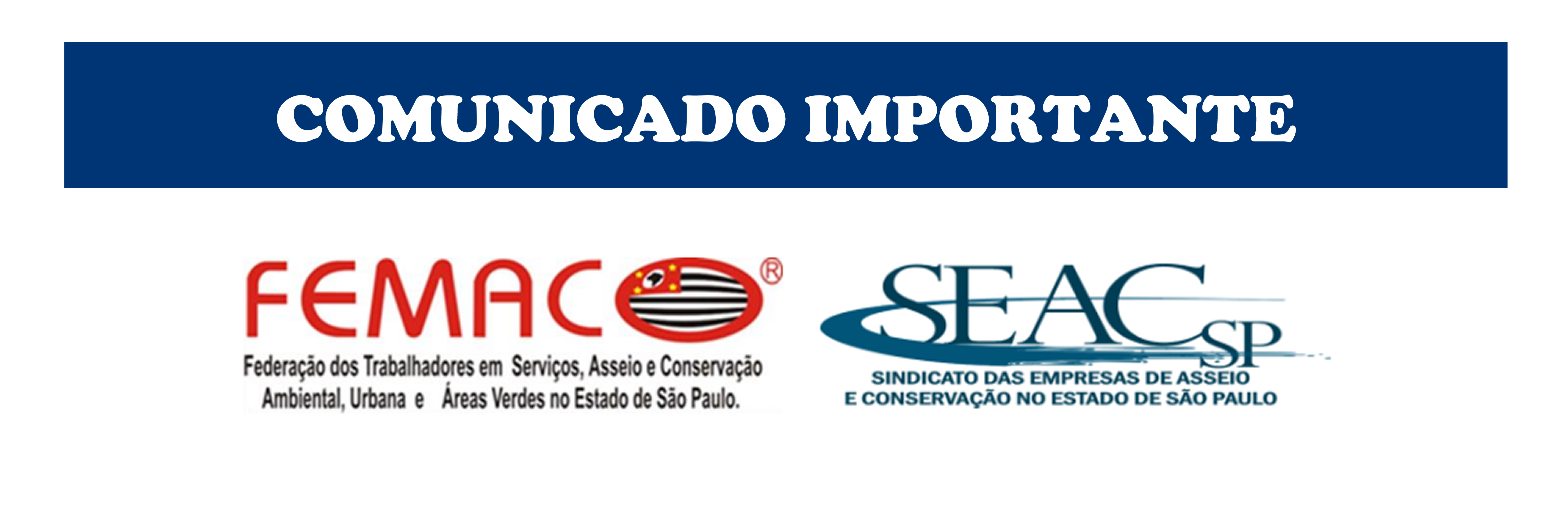 COMUNICADO_IMPORTANTE_FEMACOxSEAC