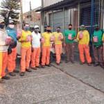 Trabalhadores da Ecoterra de Piracicaba recebem Kit Prevenção