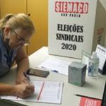 Urnas para eleição da nova diretoria do SIEMACO-SP seguem abertas para votação