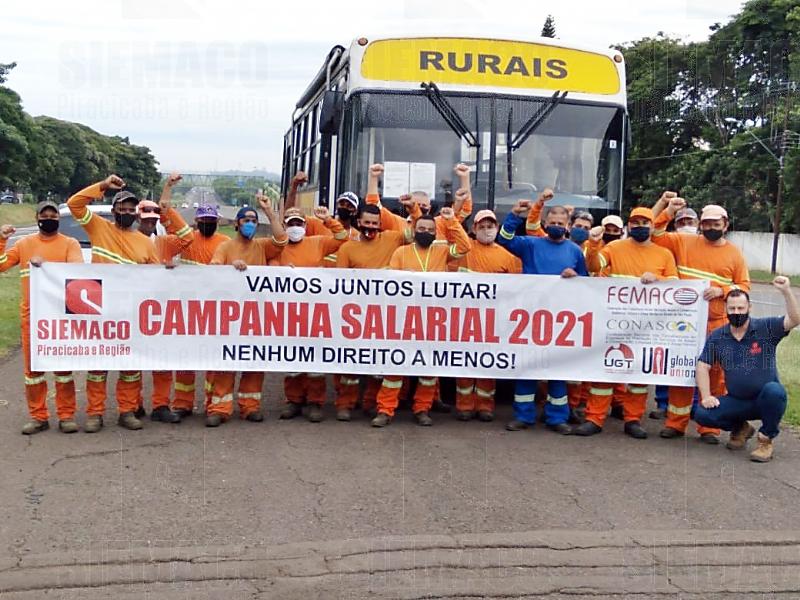 Campanha salarial é pauta das visitas organizadas pelo Siemaco Piracicaba e Região