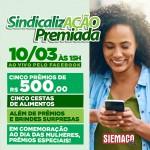 Sindicalização Premiada: Confira agora mesmo o resultado do sorteio realizado no dia 10 de março