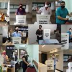 Adotando protocolos sanitários, CONASCON realiza eleição com 6 mesas coletoras
