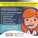 Siemaco Guarulhos divulga sua nova assistente virtual, que guiará todos os trabalhos via whats app do sindicato