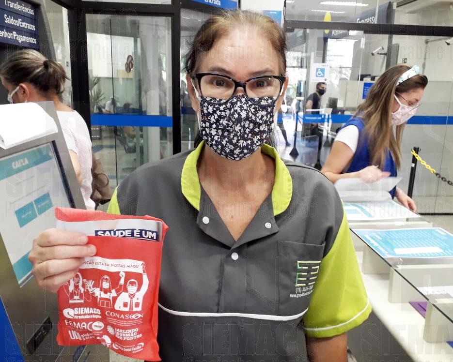 Na luta constante contra a Covid-19, Siemaco Piracicaba continua entregando kits de proteção individual aos trabalhadores
