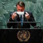 ONU: Bolsonaro nega corrupção, crise econômica e sanitária